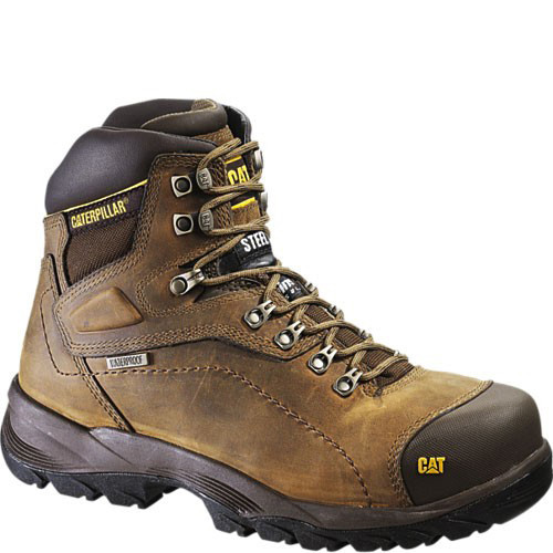 89940 Caterpillar Men's Diagnostic Safety Boots - Dark Beige