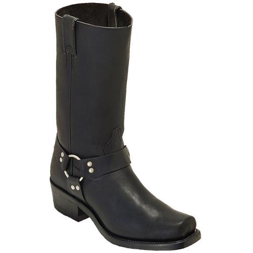 Boulet Mens Western Boots Everest Black Boots 0017