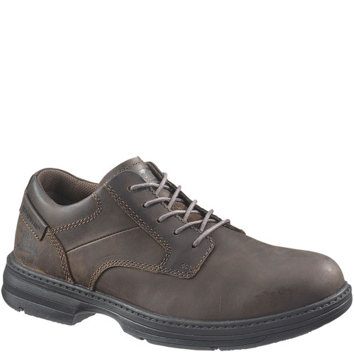 90016 Caterpillar Men's Oversee ESD Safety Shoes - Brown