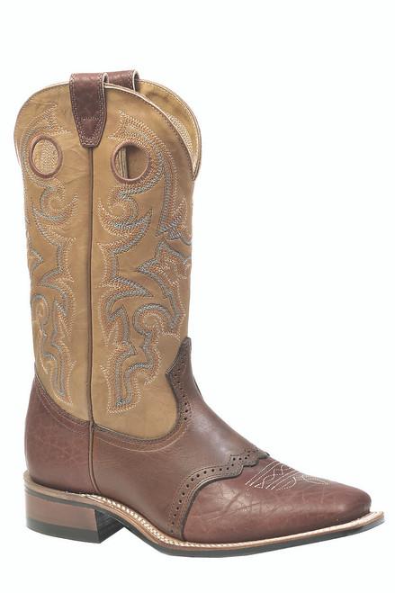 Boulet Mens Western Boots Apache Whaler Buckskin 0231