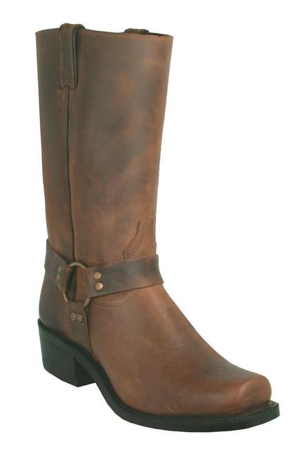 Boulet Mens Western Boots Ranger Aged Bark 2131