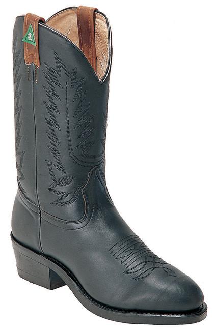 Boulet Mens Western Boots Everest Black Boots 8120