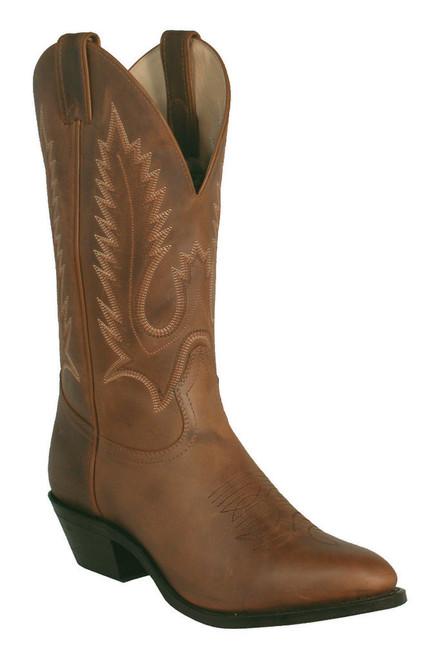 Boulet Mens Western Boots Ranger Aged Bark 6704
