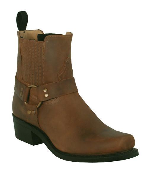 Boulet Mens Western Boots Hill Billy Golden Boots 3010