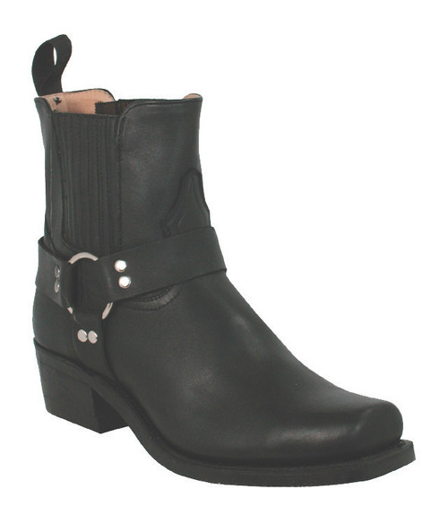 Boulet Mens Western Boots Everest Black Boots 3009