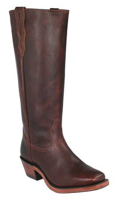 Boulet Mens Western Boots Grizzly Mountain 4004