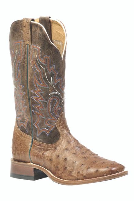 Boulet Mens Western Boots Mad Dog Ranger Ostrich 1503