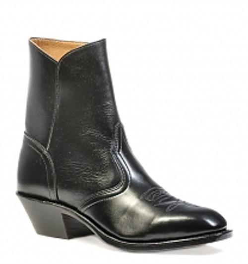 Boulet Mens Western Boots Torino Black Calf 1114