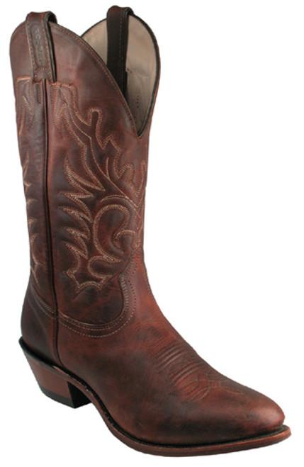 Boulet Mens Western Boots Laid Back Copper 2268
