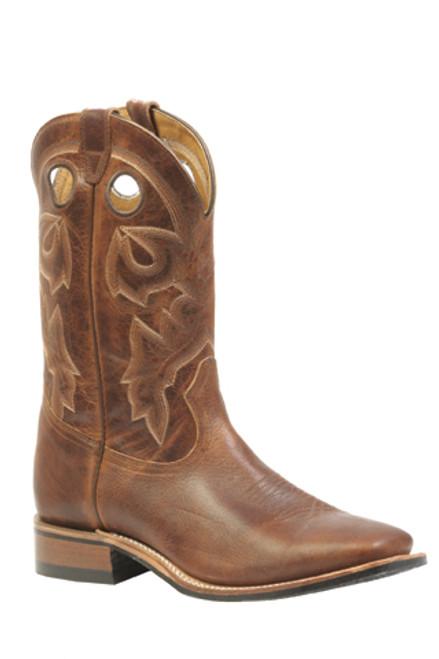Boulet Mens Western Boots Damiana Moka Boots 3024