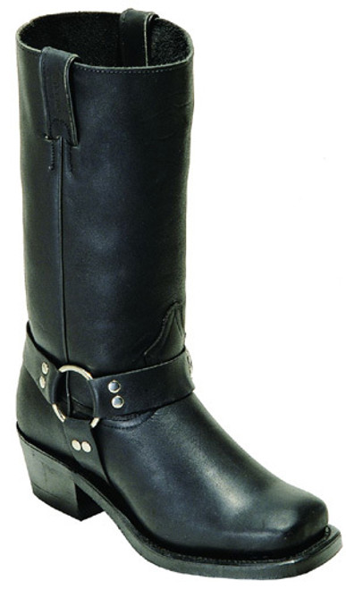 Boulet Ladies Western Boots Everest Black Boots 2064