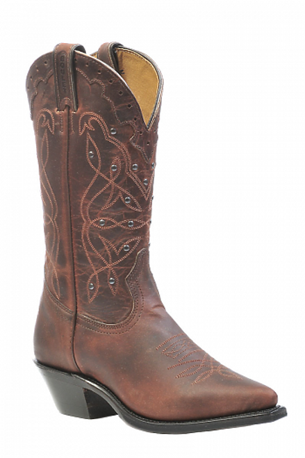 Boulet Ladies Western Boots Laid Back Copper 0205