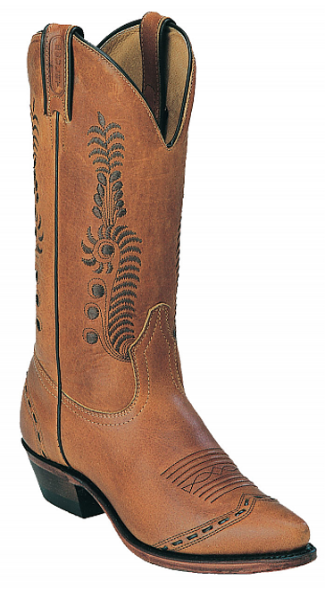 Boulet Ladies Western Boots Wrangler Tobacco 6126