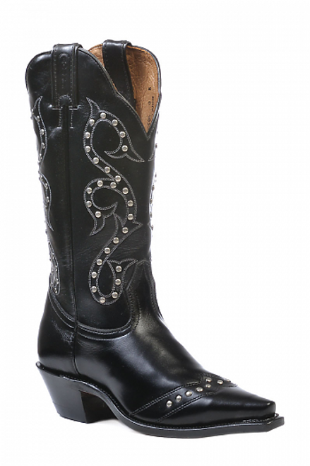Boulet Ladies Western Boots Torino Black Calf 0621