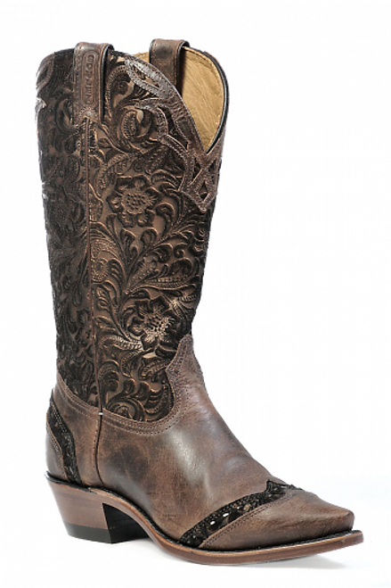 Boulet Ladies Western Boots Selvaggio Wood 1655