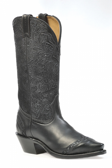 Boulet Ladies Western Boots Selvaggio Black 1656