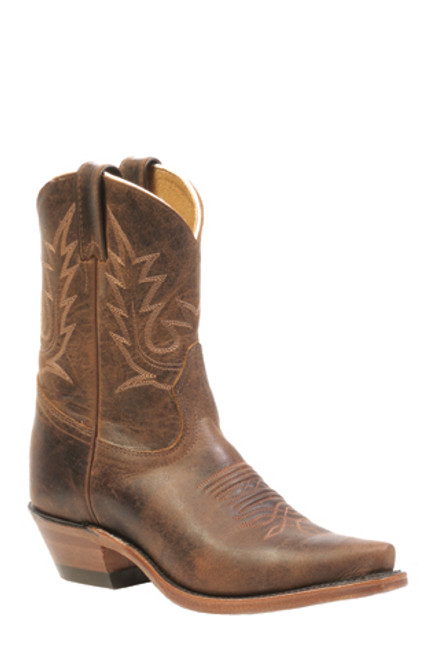 Boulet Ladies Western Boots Selvaggio Wood Snip Toe 2617