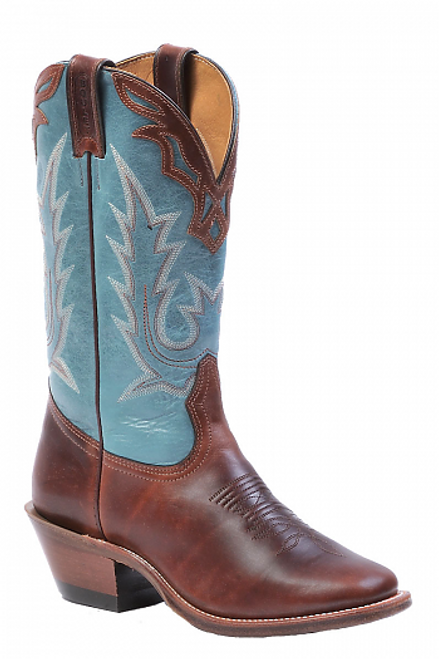 Boulet Ladies Western Boots Sombra Seahorse 5109