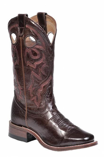 Boulet Ladies Western Boots Centrifugato Ingrassato Marrone 8043