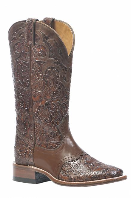 Boulet Ladies Western Boots Dankan Brown 1062