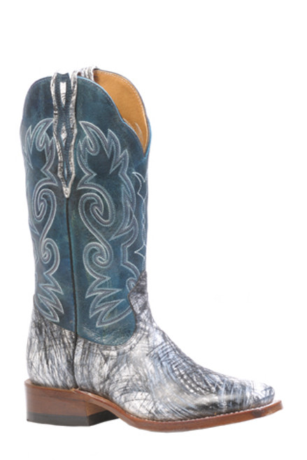 Boulet Ladies Western Boots Donna Black Boots 4073