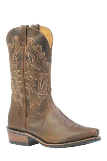 Boulet Mens Western Boots Selvaggio Wood Boots 2156