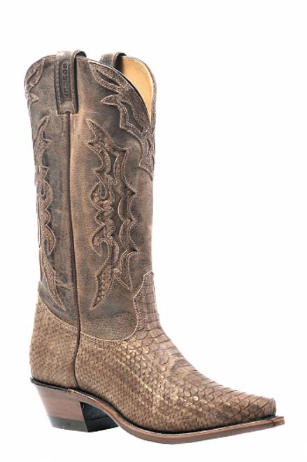 Boulet Ladies Western Boots Zermatt Baleari Bronze 1618