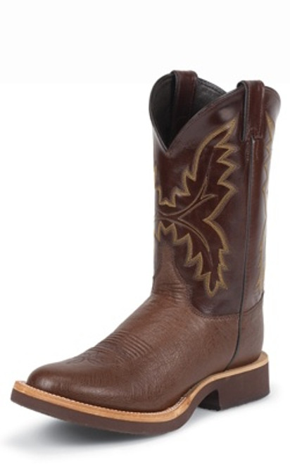"""Justin Mens Boots 5131 11"""" PALUXY ANTIQUE BROWN SMOOTH"""