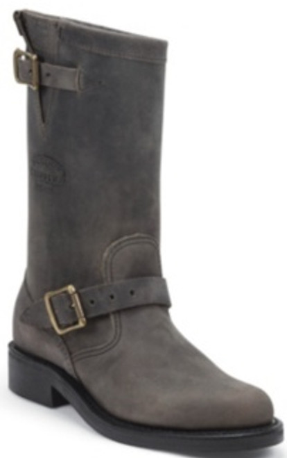 """Chippewa Mens Boots 1901W18 11"""" GREY CRAZY HORSE LADIES ENGINEER"""