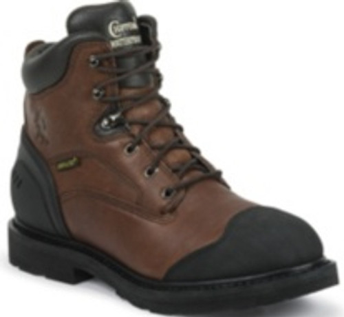 "Chippewa Mens Boots 55211 6"" WATERPROOF COMP TOE LACE UP"