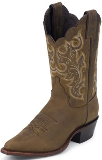 "Justin Ladies Boots L4933 10"" MILCAH"