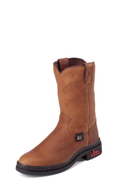"Justin Ladies Boots L9011 10"" RUSTIC COWHIDE"