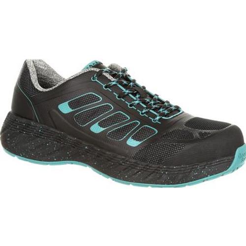 Georgia Boot ReFLX Women's Alloy Toe Work Athletic Shoe GB00233 BLACK