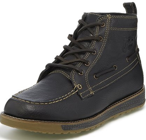 """Justin Mens Boots 281 5"""" SOLACE CHARCOAL GREY"""