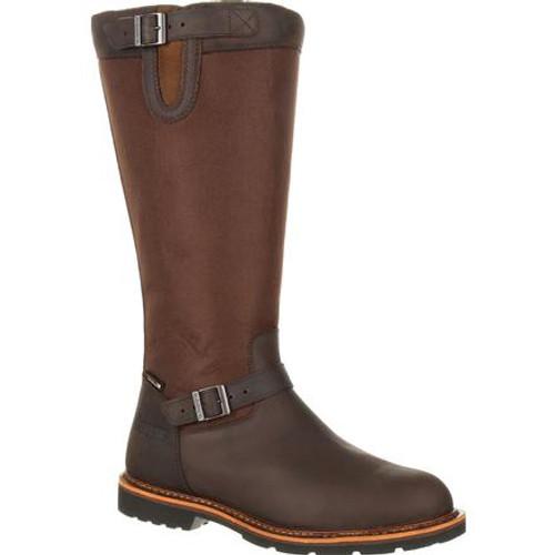 Rocky Mens Great Falls Waterproof Snake Boot RKS0374 DARK BROWN