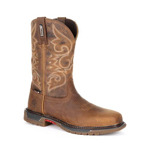 Rocky Original Ride FLX Women's Composite Toe Waterproof Western Boot RKW0284 GOLDEN ROD