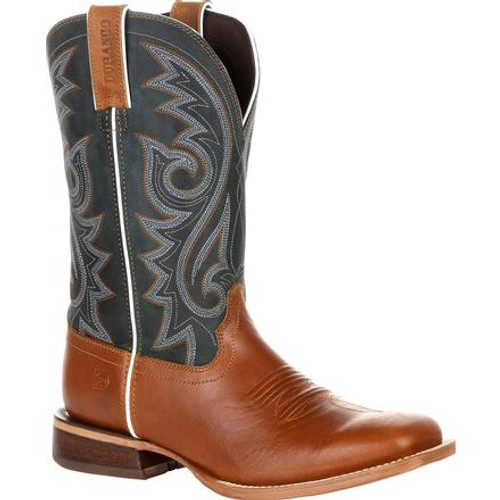 Durango® Mens Arena Pro Golden Wheat Western Boot DDB0254 GOLDEN WHEAT AND CLASSIC TEAL