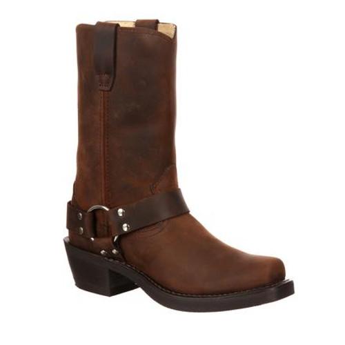 Durango Women's Harness Boot D594 DISTRESSED BROWN