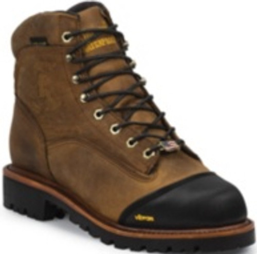 Chippewa Mens Boots 25372 BOLGER INS WATERPROOF LACEUP 6""
