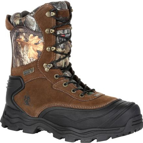 Rocky Boots Mens Multi-Trax 800G Insulated Waterproof Outdoor Boot RKS0418 REALTREE EDGE