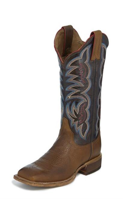"Justin Ladies Boots BRL376 13 Katia"" Tan"