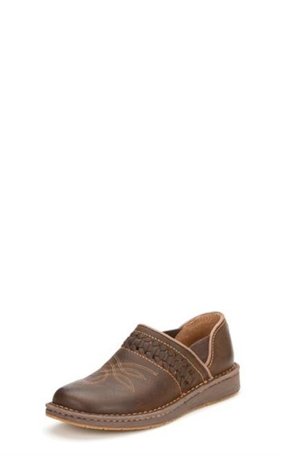 Justin Ladies Boots JL241  Poly Dark Brown