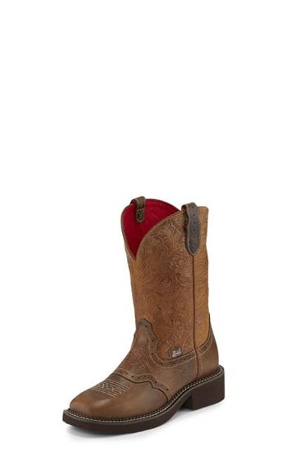 Justin Ladies Boots L9530  Starlina Tan