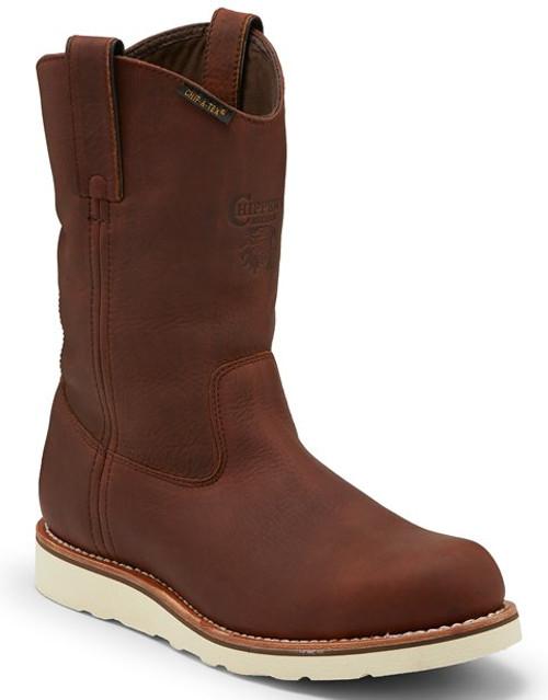 """Chippewa Mens Boots 25335 11"""" EDGE WALKER W/P PULL ON"""