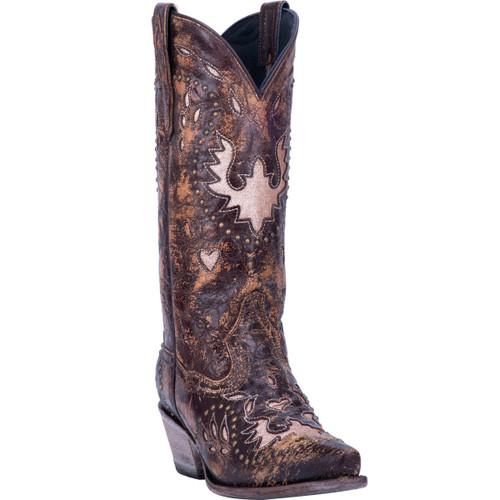 """Dan Post Boots Ladies DP3766 12"""" MOUSSE"""