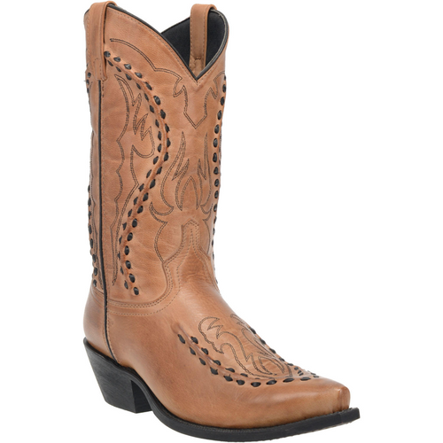 "Laredo Boots Mens 68432 12"" LARAMIE TAN"