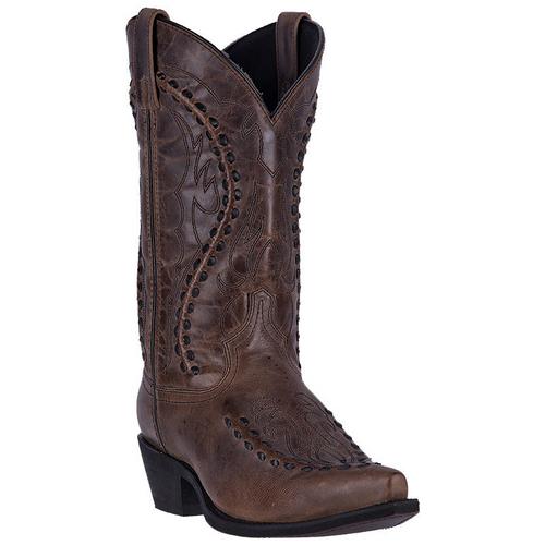 "Laredo Boots Mens 68434 12"" LARAMIE RUST"