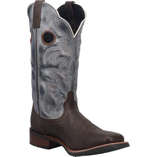 "Laredo Boots Mens 7916 13"" TAYLOR CHOCOLATE - BLUE"