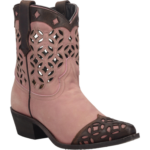"""Laredo Boots Ladies 3176 8"""" NOW YOU SEE ME BLUSH"""