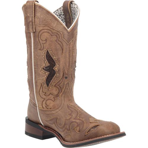 """Laredo Boots Ladies 5661 11"""" SPELLBOUND TAN"""
